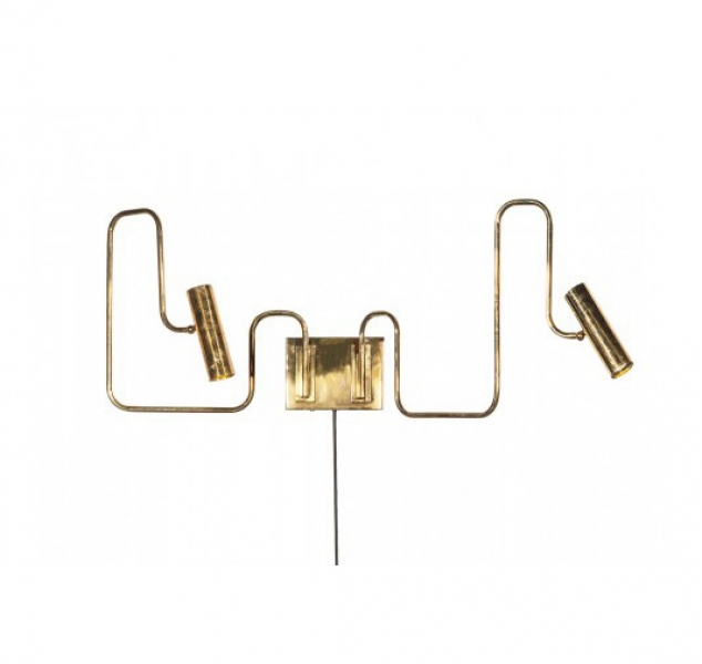 Pivot Double Sconce by Gentner
