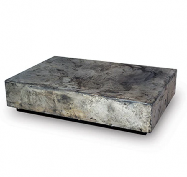 Pewter Cocktail Table by Gentner