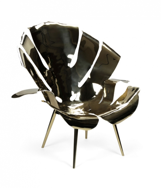 The Philodendron Leaf Lounge by Christopher Kreiling