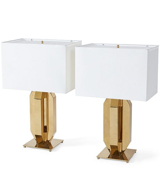 Pair of Republique Table Lamps