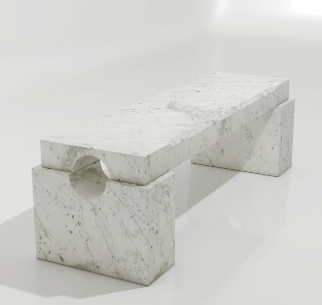 Athens Bench by Magni Home Collection