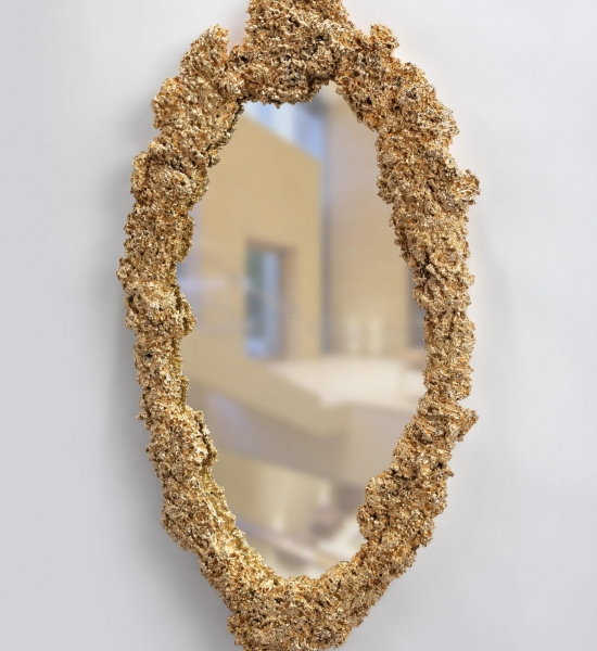 Brooch Mirror by Magni Home Collection