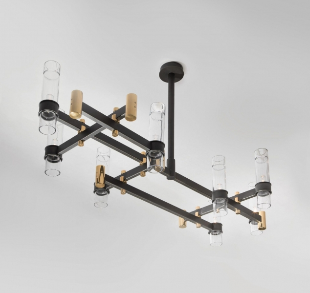 Mondrian Chandelier by Magni Home Collection