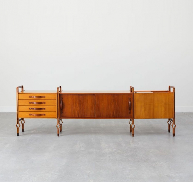 Modernist Sideboard by Franco Campo for Carlo Graffi