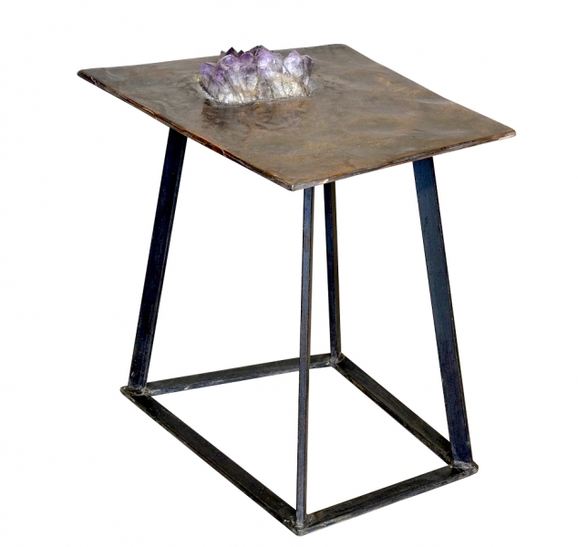 Crystal Series #2 Side Table by Chuck Moffit