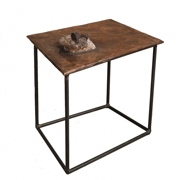 Crystal Series #3 Side Table by Chuck Moffit