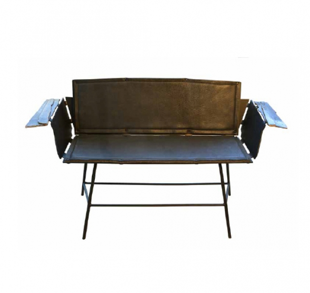 Inflecto Settee by Chuck Moffit
