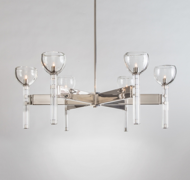 Montecito Chandelier by Magni Home Collection
