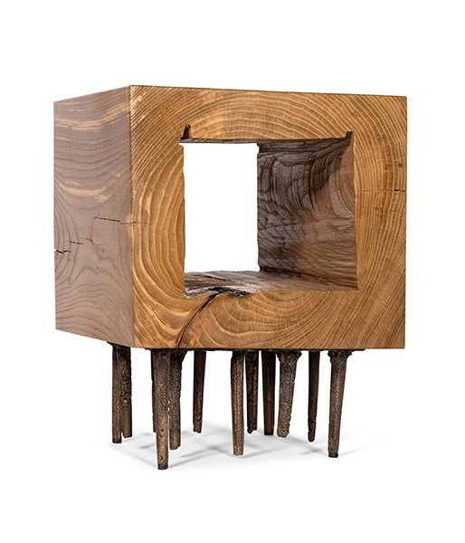 Nail Brush Side Table by Harry Siter