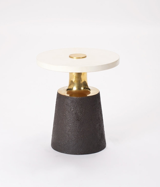 Necked Side Table by Elan Atelier