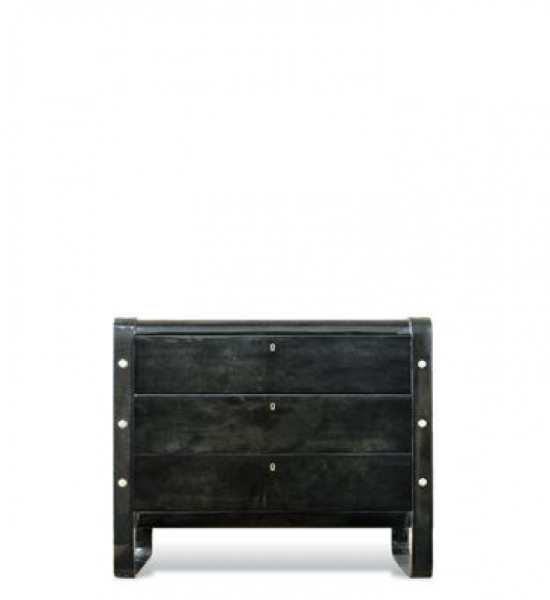 Nickel Lug Chest by Scala Luxury