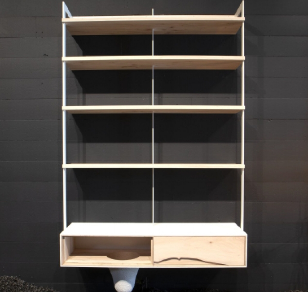 Outside In Wall Unit 56″ by Patrick Weder