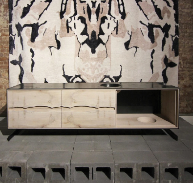 Outside In Credenza by Patrick Weder