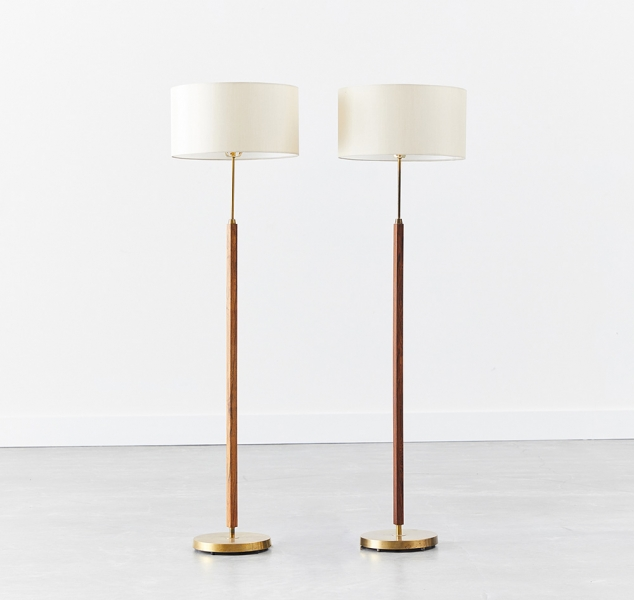 Pair of Umea Floor Lamps by Falkenberg