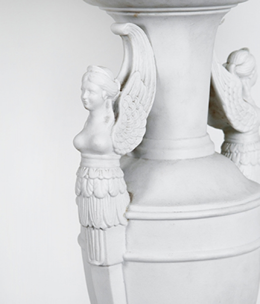 Pair of Parian Table Lamps