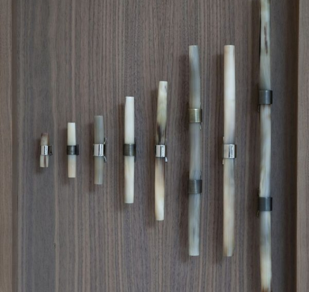 Pale Horn Handles by Ochre
