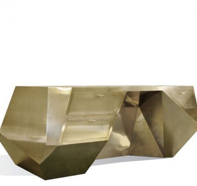 Popova Desk by Scala Luxury