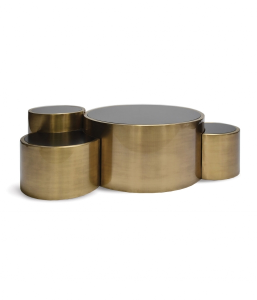 Polymorphic Brass Coffee Table