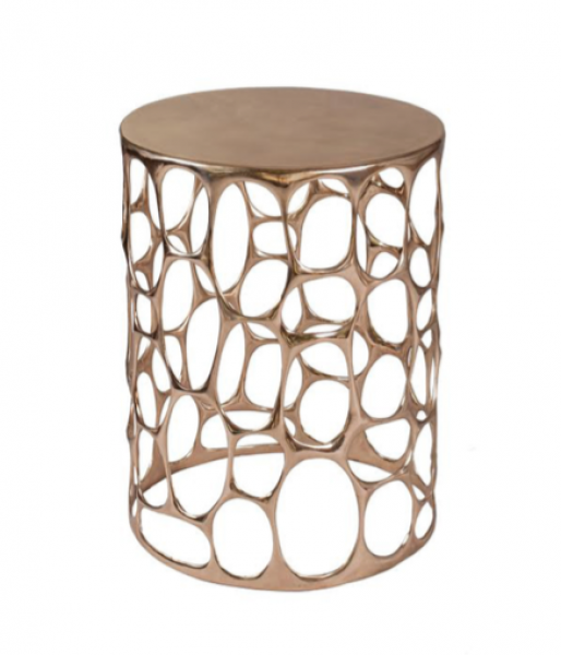 Bronze Side Table by Nick Alan King