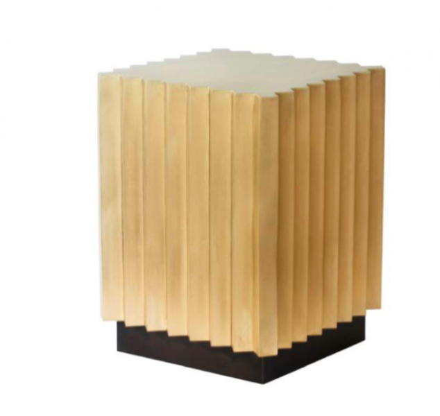 Corrugated Side Table by John Liston