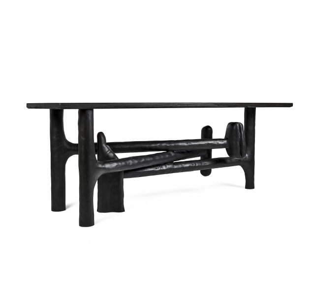 006 Sculptural Console Table by Casey McCafferty