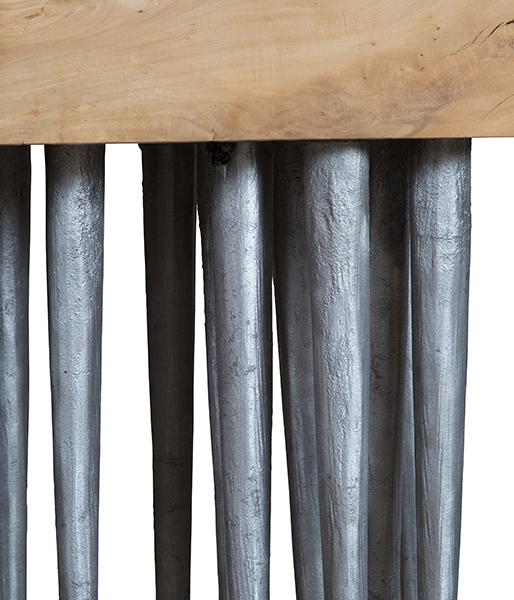 Snail Brush Console Table by Harry Siter