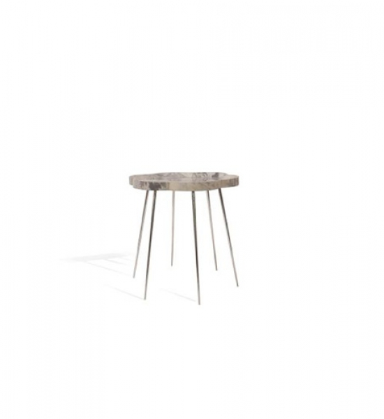 Stainless Steel Petal Table by Scala Luxury