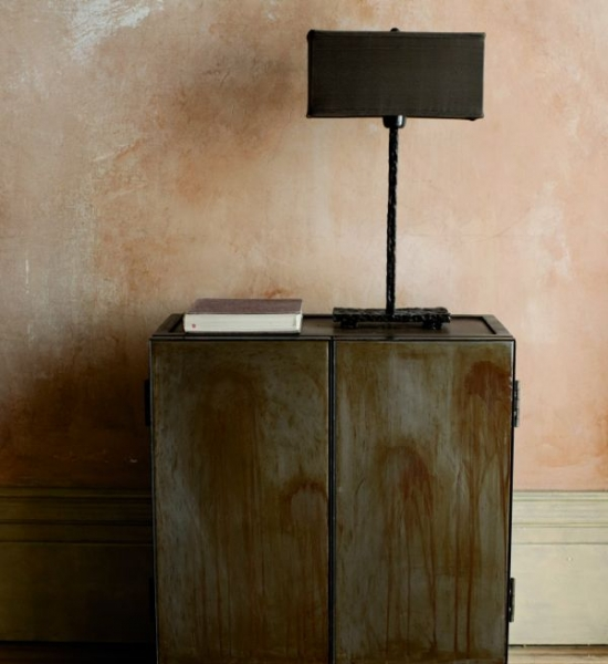 Tarnished Steel Cabinet by Ochre