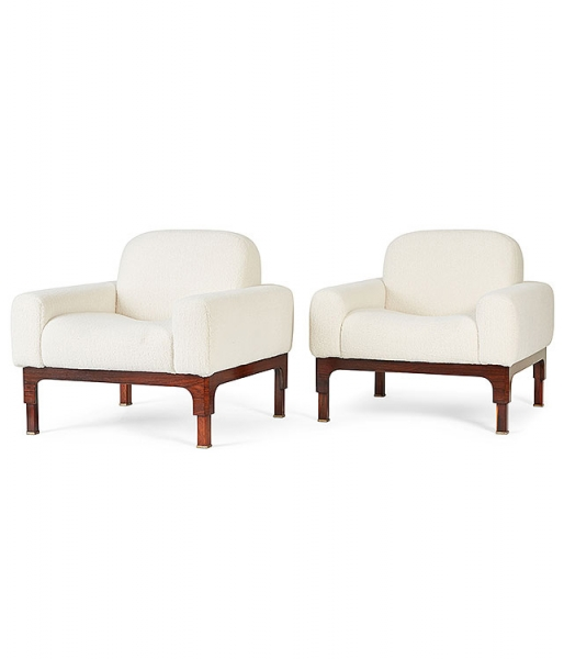 Pair of Romantica Club Chairs