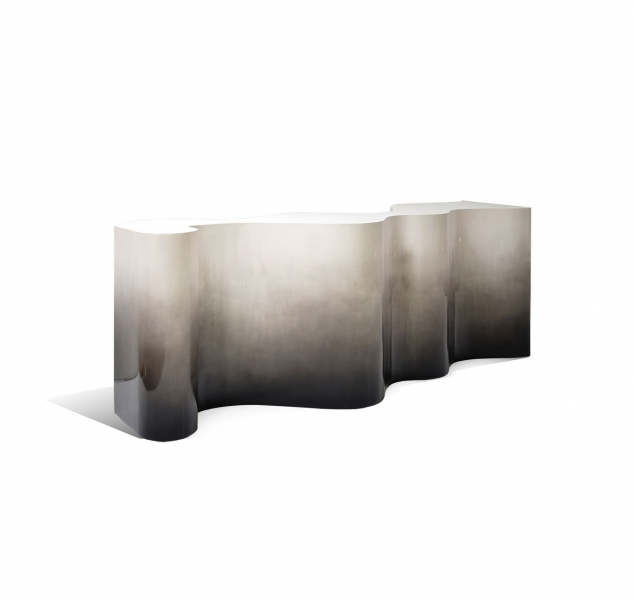 Undulated Console Table