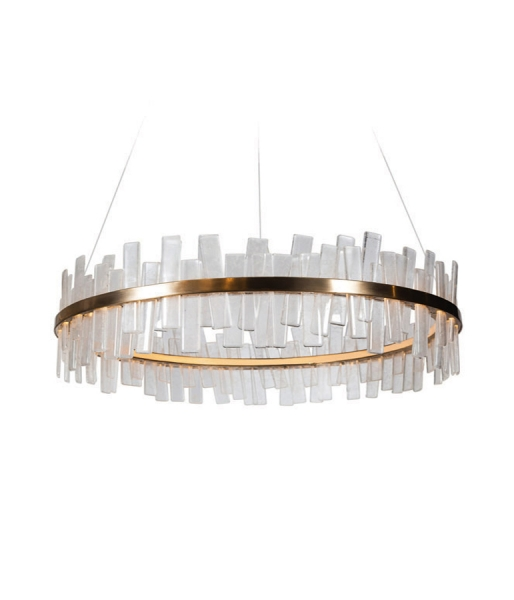 Aquitaine – Single Tier Ellipse Chandelier