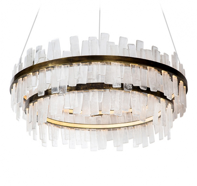 Aquitaine Chandelier, Double Tier by COUP STUDIO