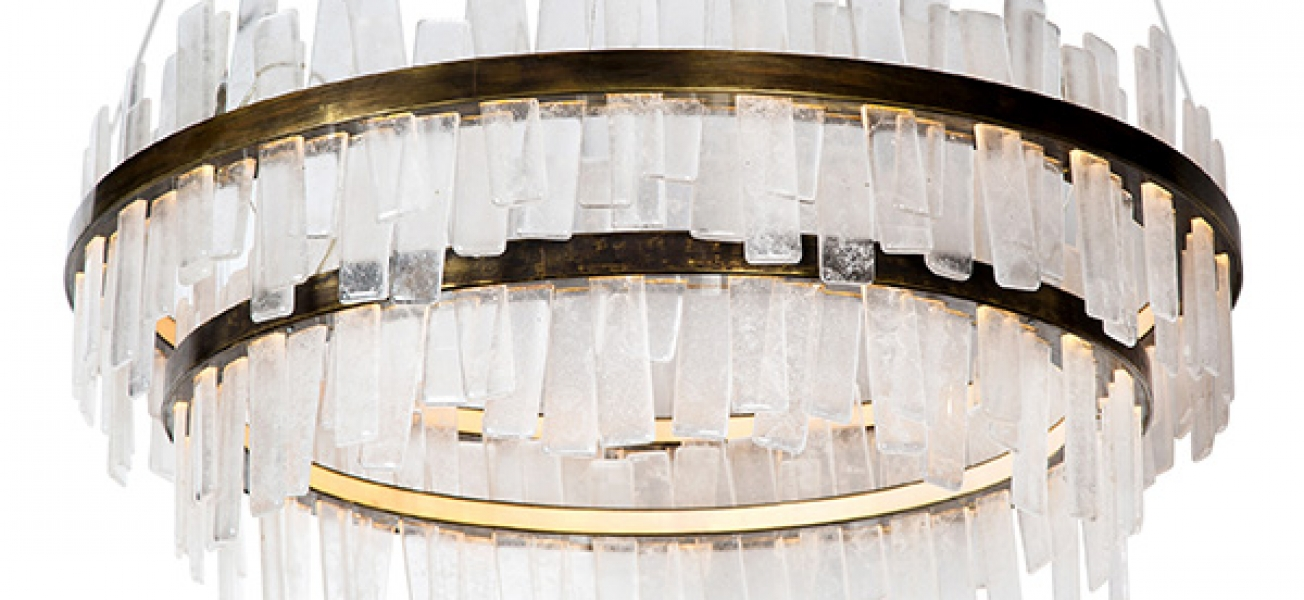Aquitaine Chandelier – Double Tier by Coup Studio