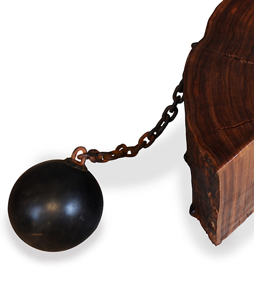 Ball & Chain Side Table by Florian Roeper