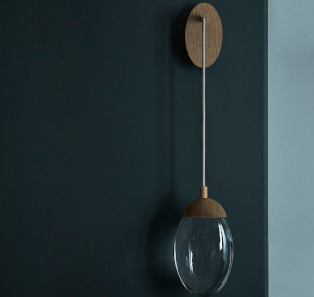 Beach Pebble Wall Light by OCHRE