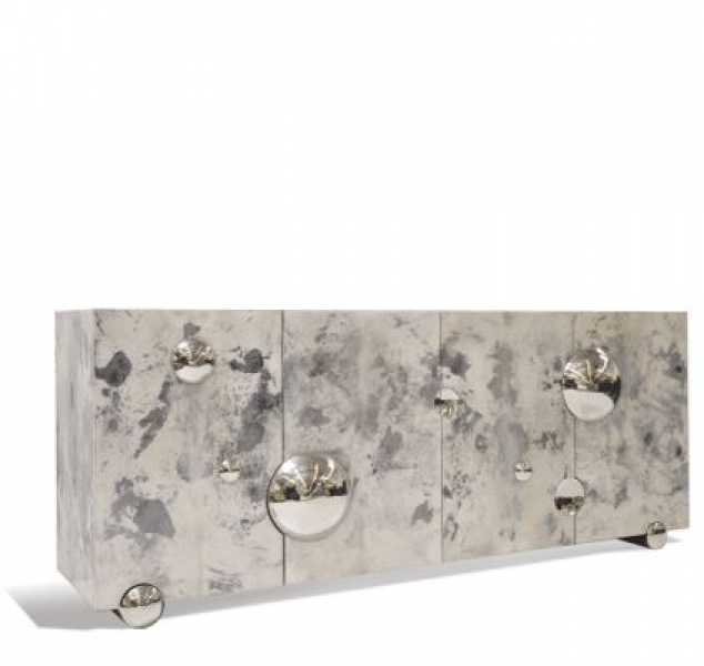 Nickel Constellation Sideboard
