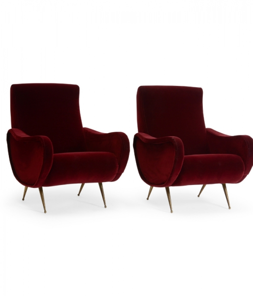 Pair of Pista Club Chairs