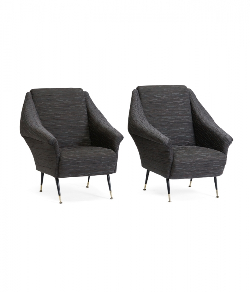 Pair of Sia Club Chairs