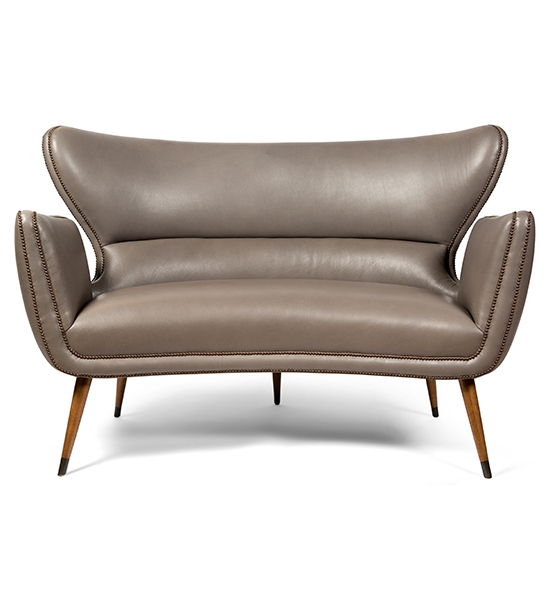 Italian Club Settee by COUP STUDIO