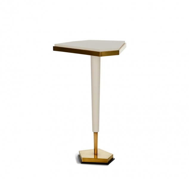 Triangulo Side Table by Jean De Merry