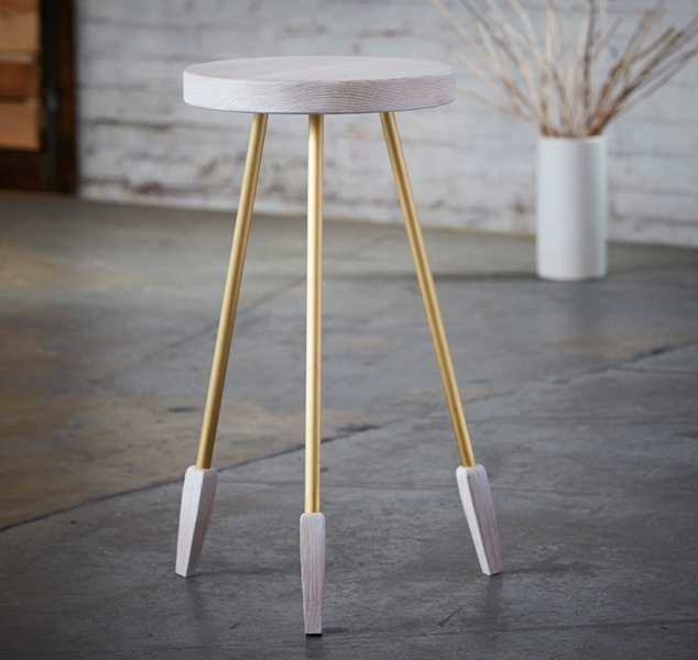 Milking Stool Tall by Casey McCafferty