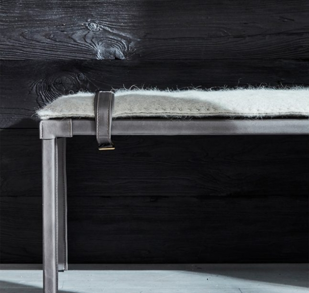 Sable Dining Bench by Ochre