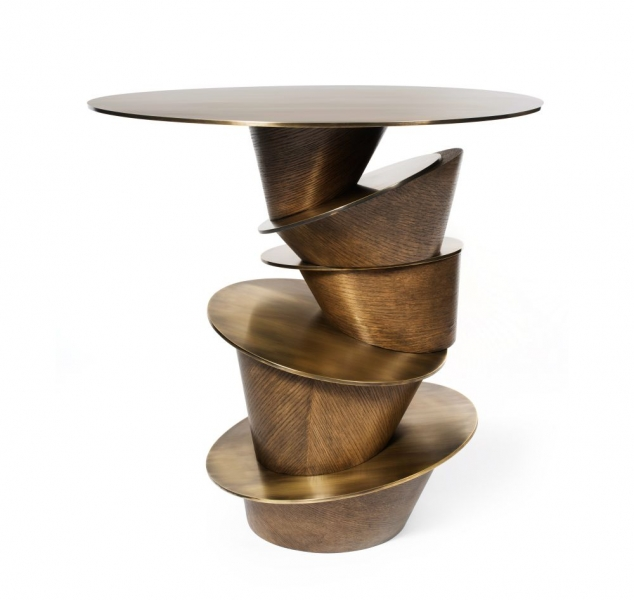 Rachis Side Table by Dylan Farrellfor Jean De Merry