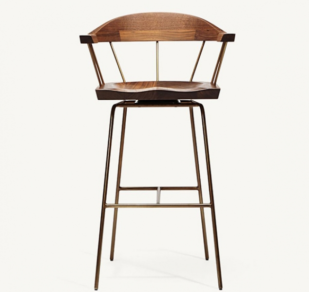 Spindle Counter Chair by BassamFellows