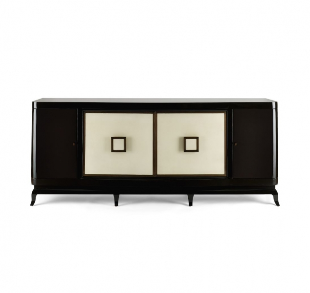 Square Sideboard by Jean De Merry