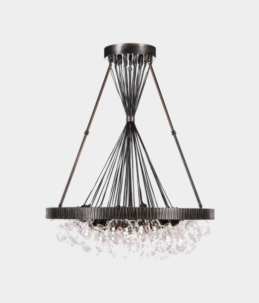 Stixx Banded Chandelier