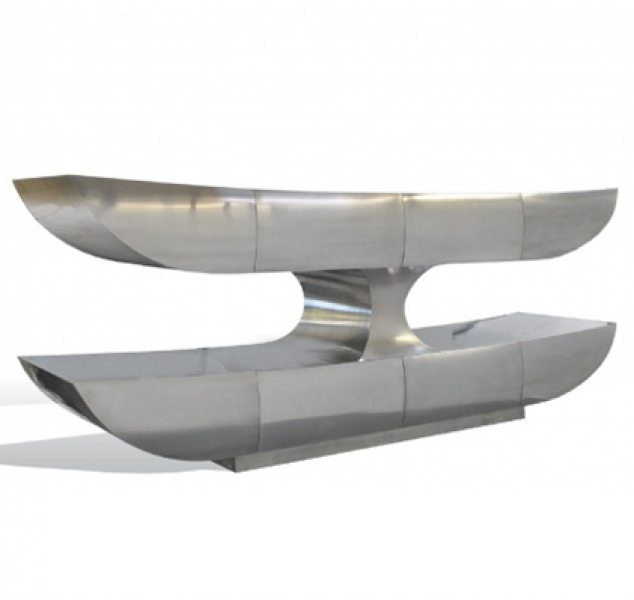 Two Tier Console – Stainless