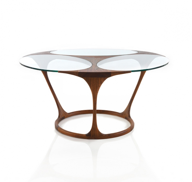 Yris Dining Table, Round by Agrippa