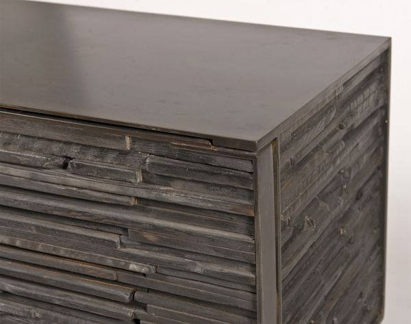 Charred Wood Cabinet by John Liston
