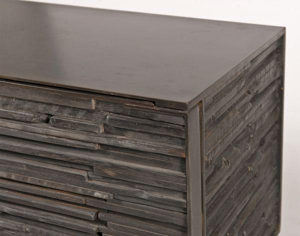 Charred Wood Cabinet by John Liston